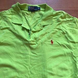 Polo by Ralph Lauren Shirts - Polo Ralph Lauren Bright Green Polo
